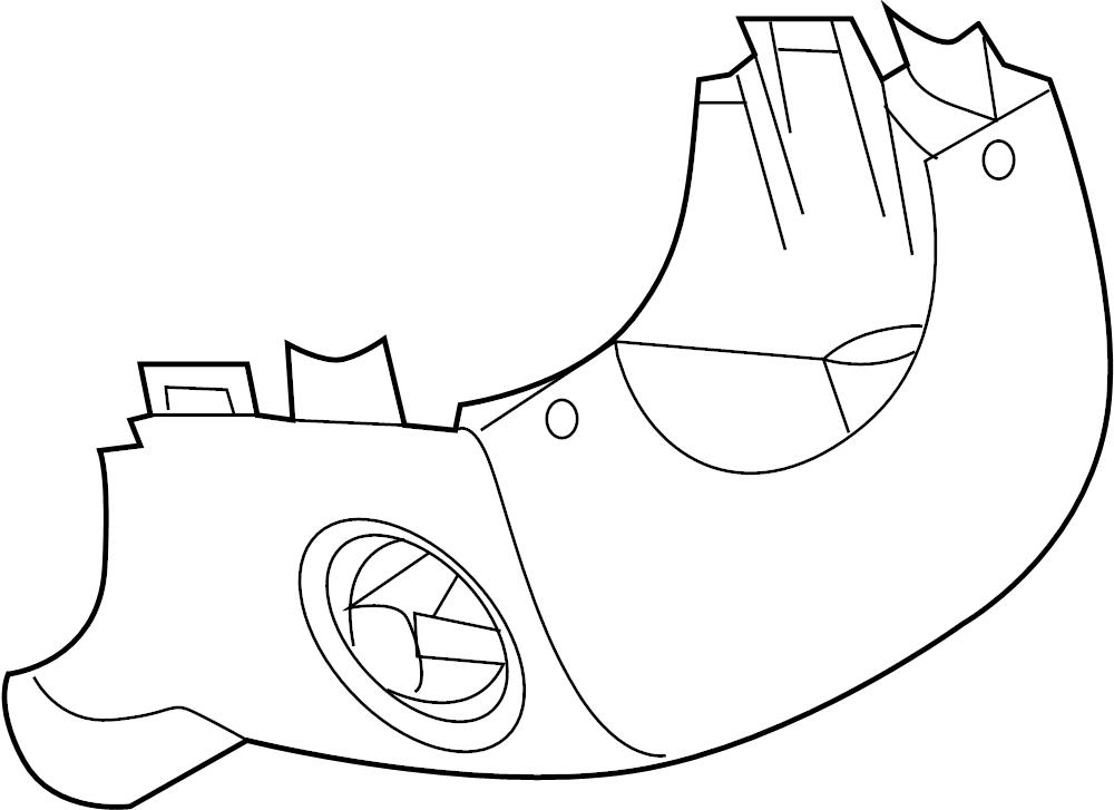 Chevrolet Aveo Steering Column Cover  Aveo  Aveo5  G3