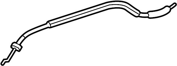 Chevrolet Malibu Door Latch Cable