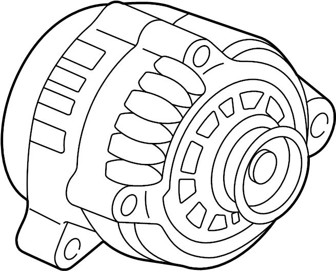 Chevrolet Malibu Alternator - 19244796