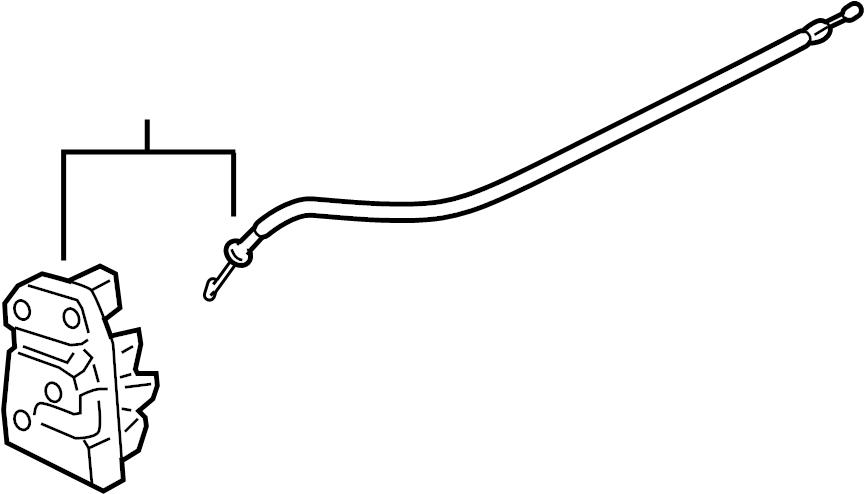 Chevrolet Malibu Lock  Latch  Actuator