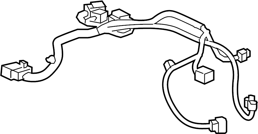 Chevrolet Spark Fuel Pump Wiring Harness