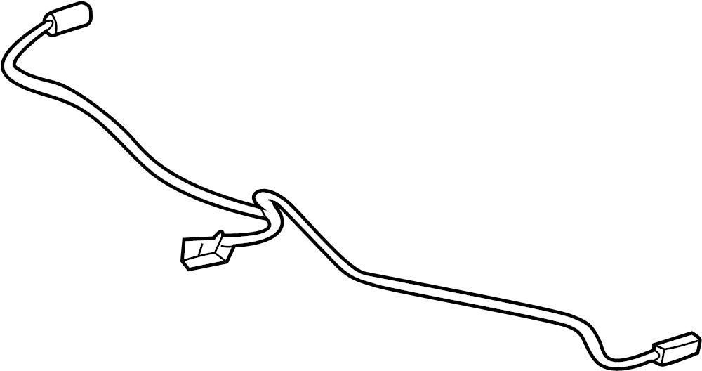 pontiac bonneville harness  sensor  abs  wire  rear