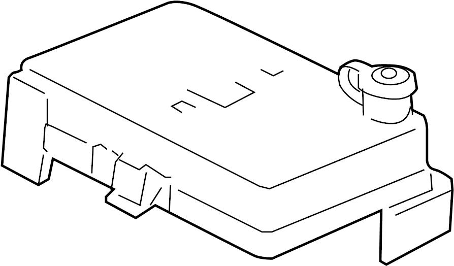 Pontiac G5 Fuse Box Cover  Underhood  Underhood  2 2l