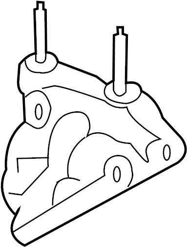 Pontiac G6 Engine Mount Bracket  Front   2 2 Liter  2 4