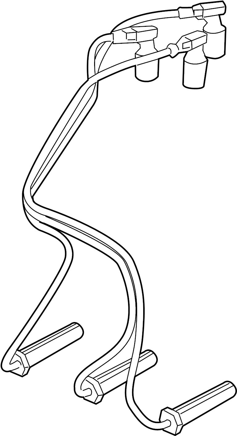 Chevrolet Silverado 1500 Spark Plug Wire Set