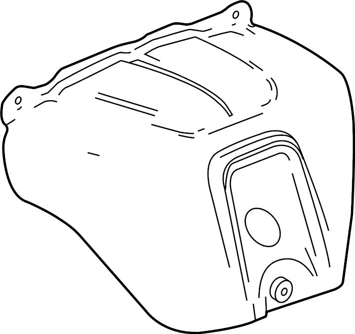 Gmc Acadia Exhaust Manifold Heat Shield
