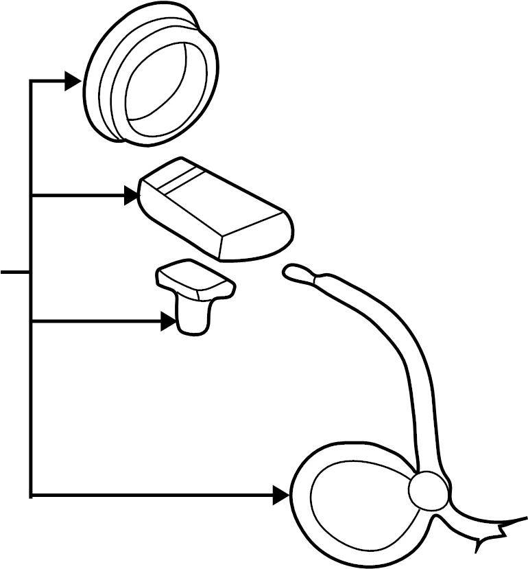 Gmc Sonoma Abs Wheel Speed Sensor  Left  Right  Brake