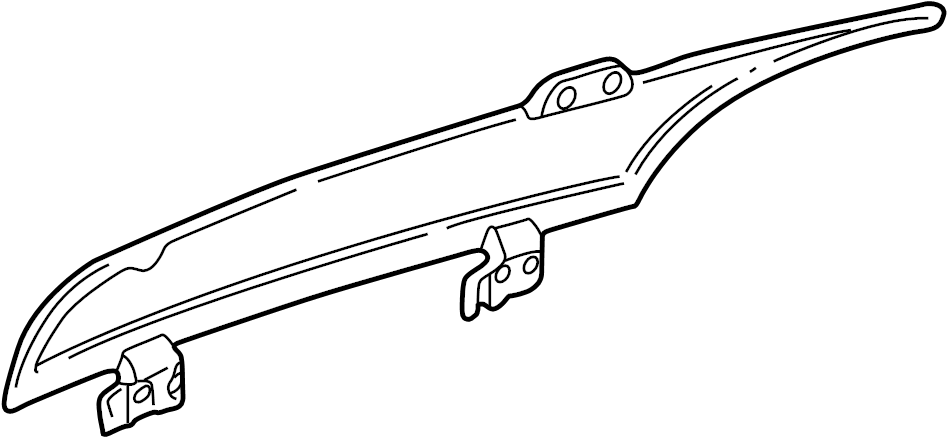 Chevrolet Blazer Liftgate Glass  Rear   2 Door  Gm  W  O