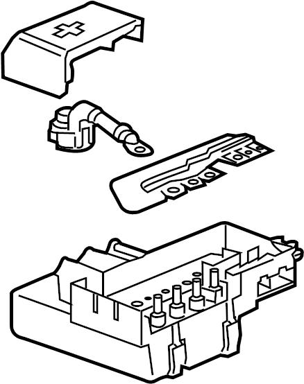 Chevrolet Silverado 2500 Hd Junction Block  Engine