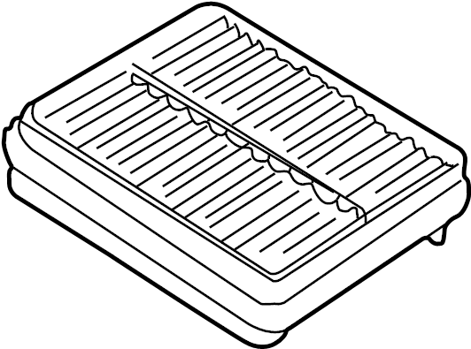 Chevrolet Tracker Air Filter  1 6  U0026 2 0 Liter  Tracker