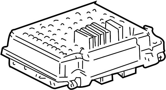 Gmc Sierra 2500 Hd Classic Junction Block  Fuses  U0026 Relays