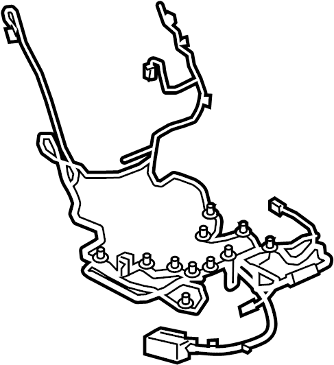 Gmc Acadia Power Seat Wiring Harness  W  Power  W  O