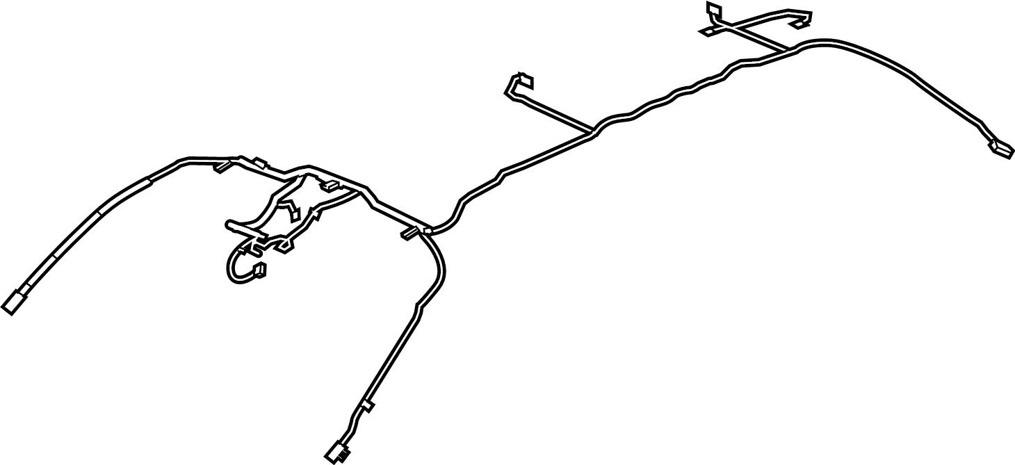 Chevrolet Equinox Headliner Wiring Harness  W  Sunroof  W