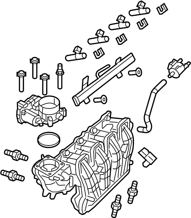 Gmc Savana 3500 Engine Intake Manifold  2018